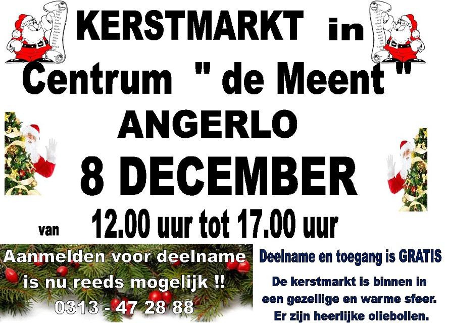 Kerstmarkt 2019 Centrum de Meent